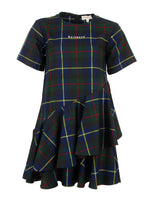 Load image into Gallery viewer, Plaid Topsy Turvy Dress