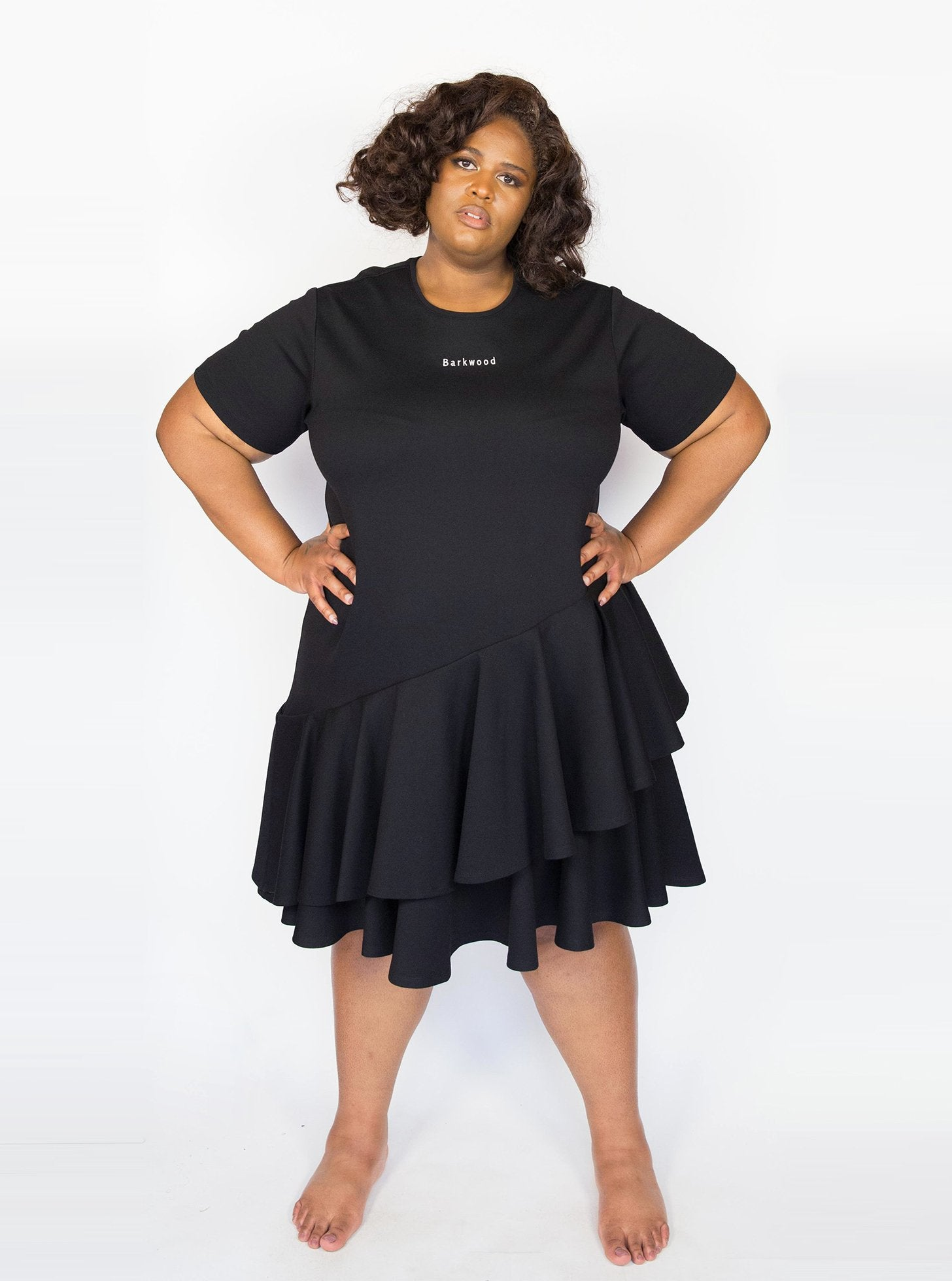 Black Topsy Turvy Dress