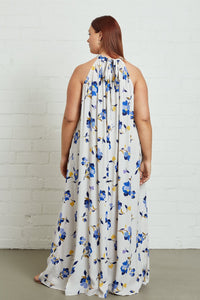 Crepe Lotus Dress - Plus Size