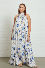 Load image into Gallery viewer, Crepe Lotus Dress - Plus Size
