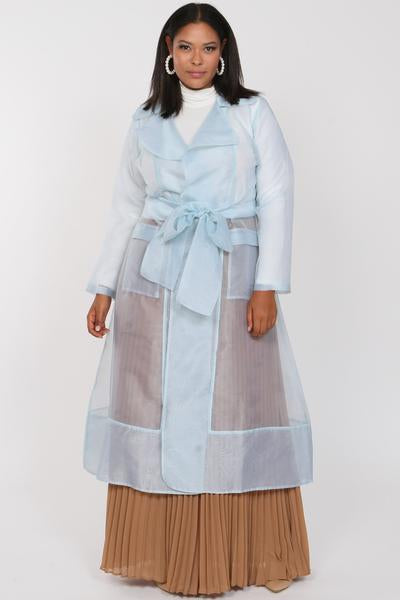 Cherish Organza Trench