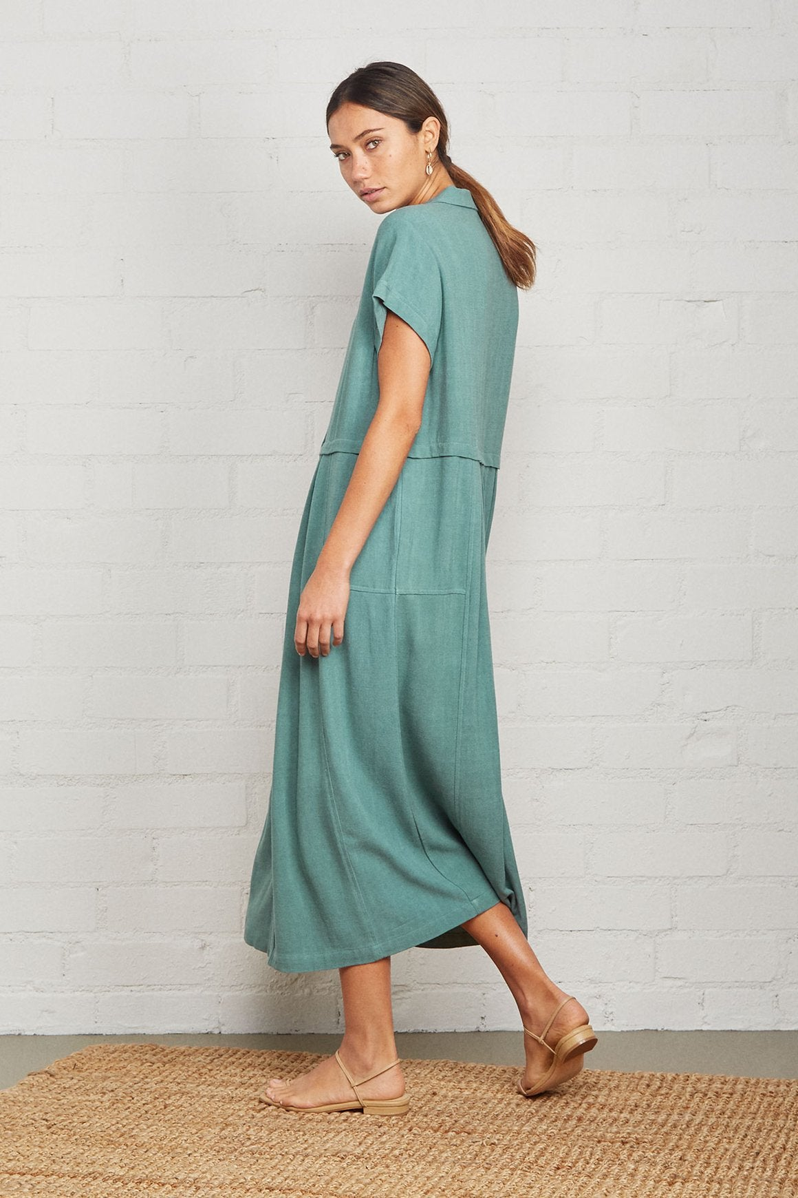 Linen Andi Dress - Plus Size