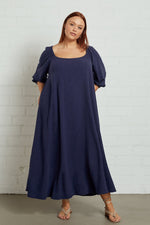 Load image into Gallery viewer, Linen Eris Dress - Plus Size