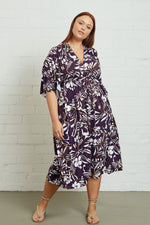 Load image into Gallery viewer, Mid-Length Caftan Dress, Plus Size