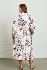 Load image into Gallery viewer, Mid-Length Caftan Dress - Plus Size