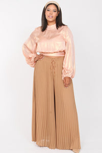 Arabella Tie Neck Crop Top