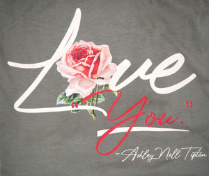 "LOVE ""YOU"" T-Shirt Olive"