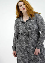 Load image into Gallery viewer, Milan Shirt Dress // Scatter