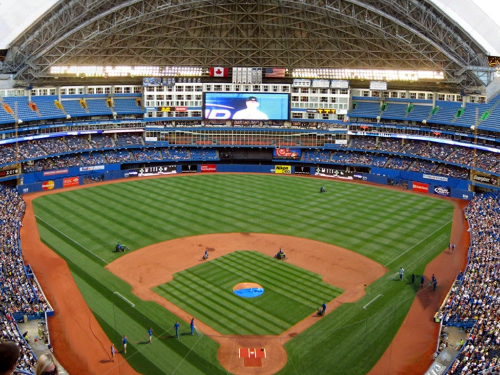 Architectural prints of sports stadiums ballpark blueprints ballpark profile rogers centre skydome malvernweather Gallery
