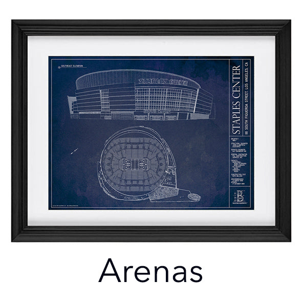 Architectural prints of sports stadiums ballpark blueprints a note about imitation merchandise malvernweather Images