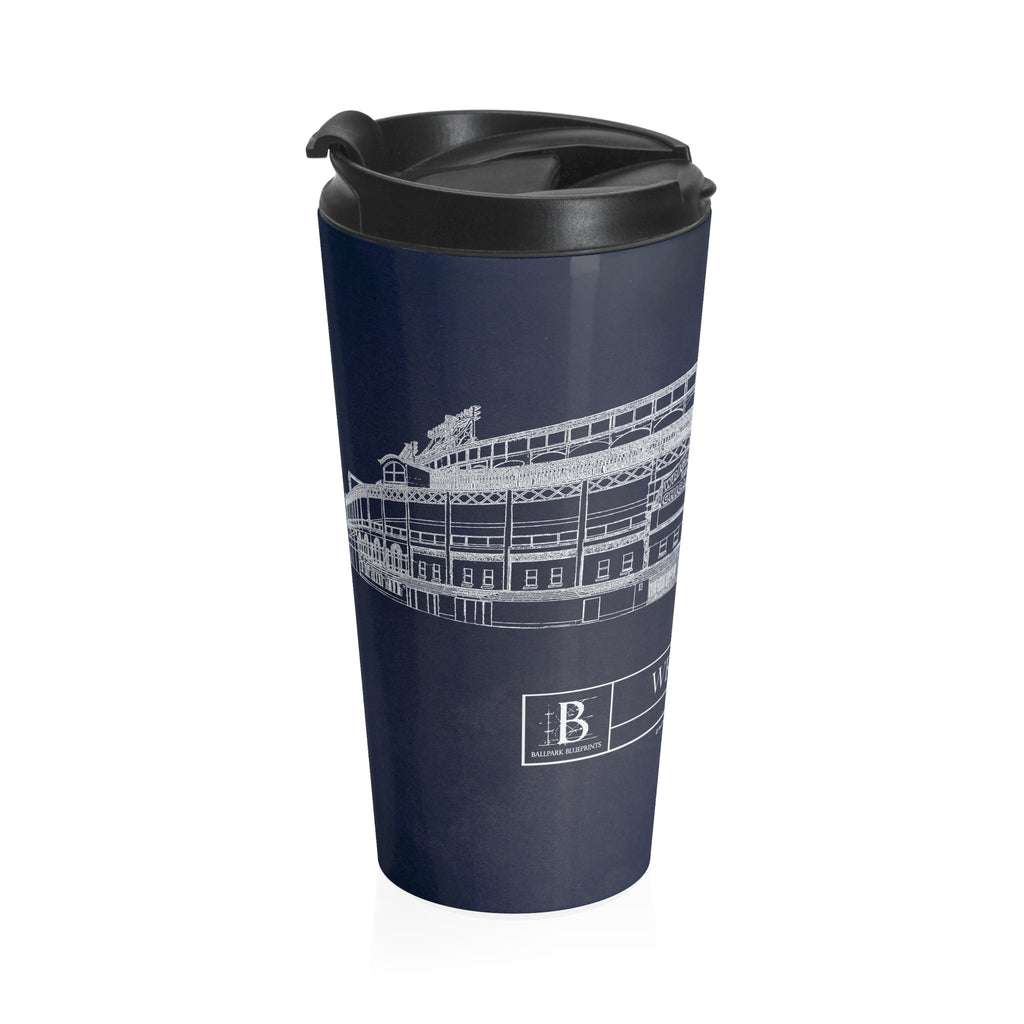 Wrigley Field Stainless Steel Travel Mug