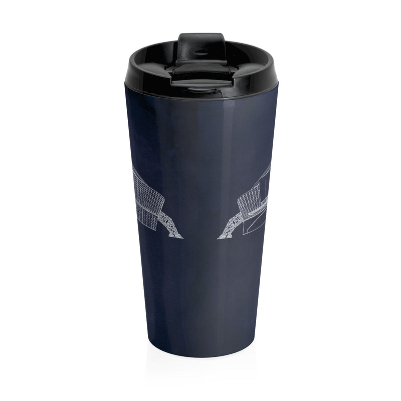 AT&T Stadium Stainless Steel Travel Mug