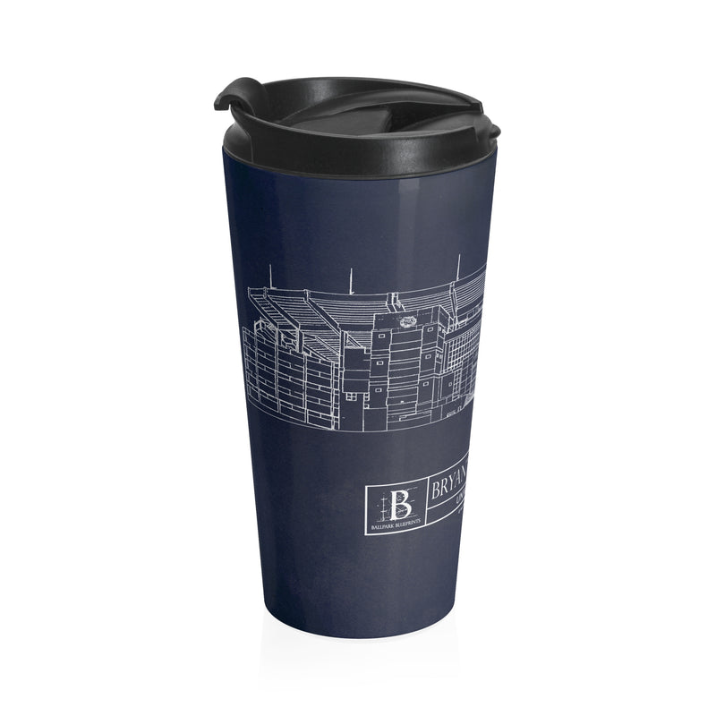 Bryant-Denny Stadium - University of Alabama Stainless Steel Travel Mug