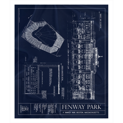 Citi Field Fleece Sherpa Blanket