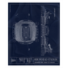 Ben Hill Griffin Stadium Fleece Sherpa Blanket
