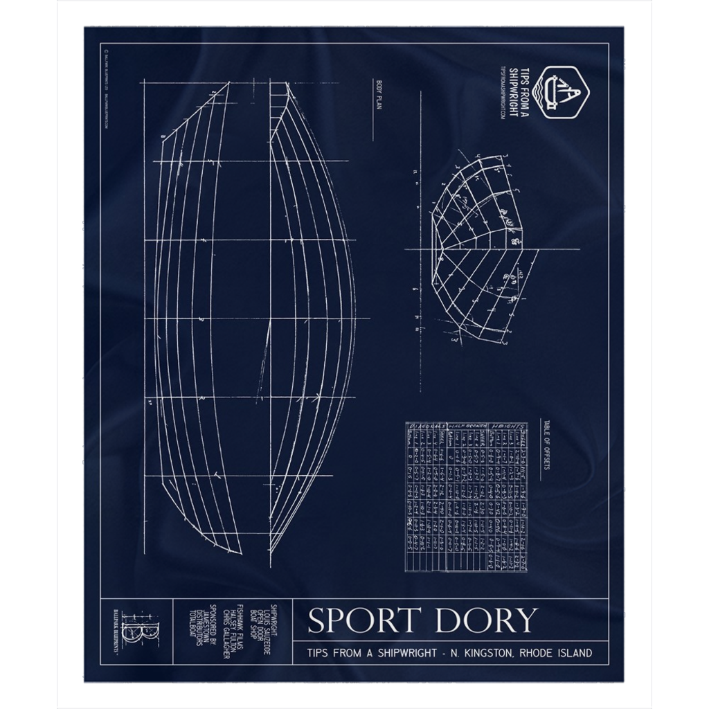 Tips from a Shipwright - Sport DoryFleece Sherpa Blanket