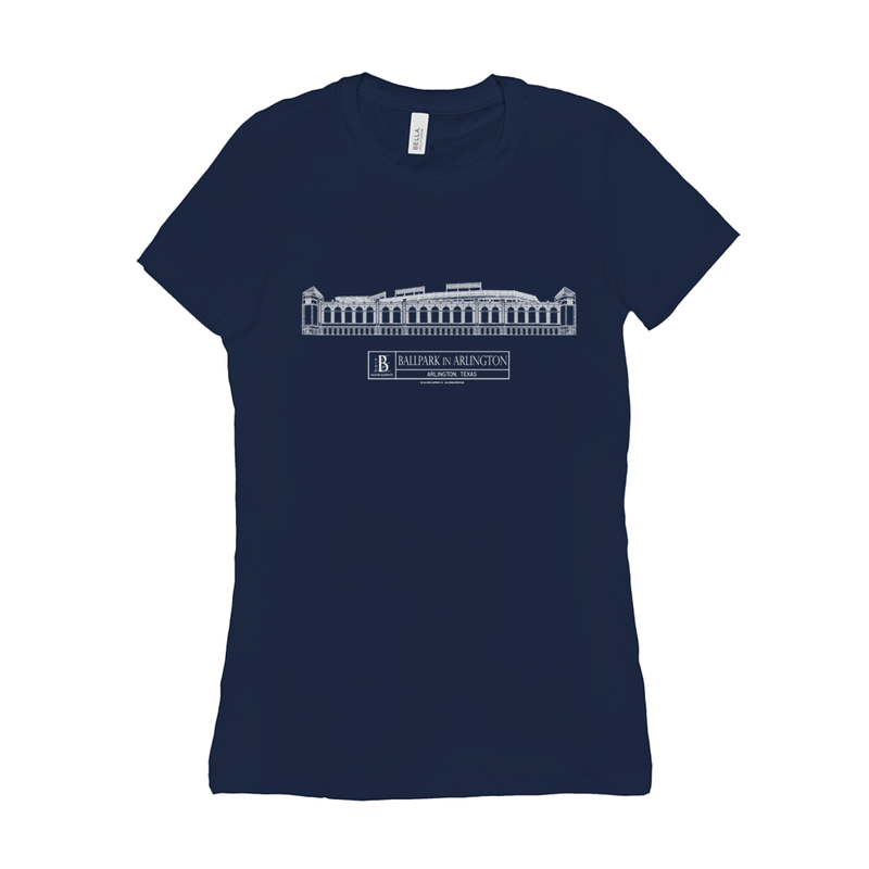 Ballpark in Arlington Women's T-Shirt