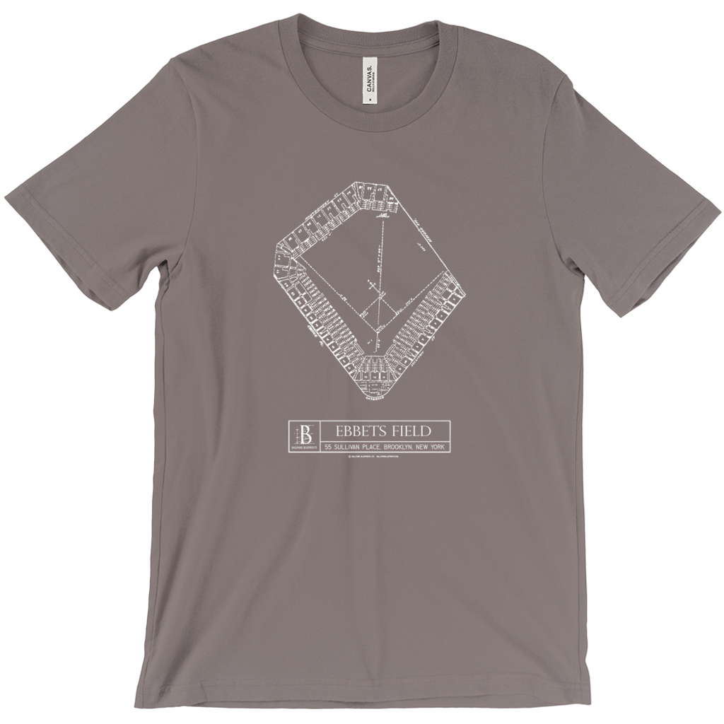 Ebbets Field (Plan View) Unisex T-Shirt