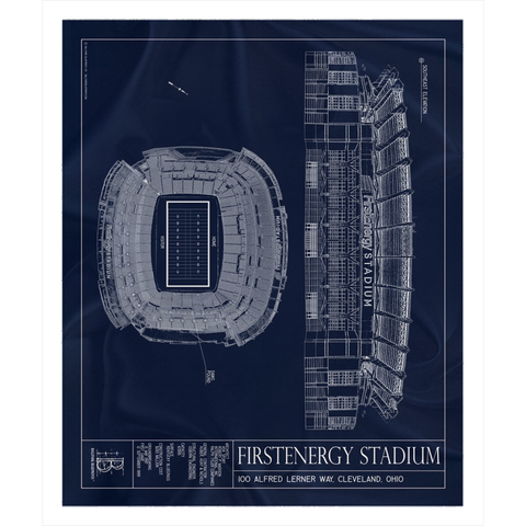 DKR- Texas Memorial Stadium Fleece Sherpa Blankets