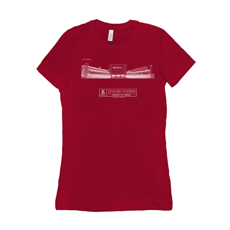 Sanford Stadium Women's T-Shirt