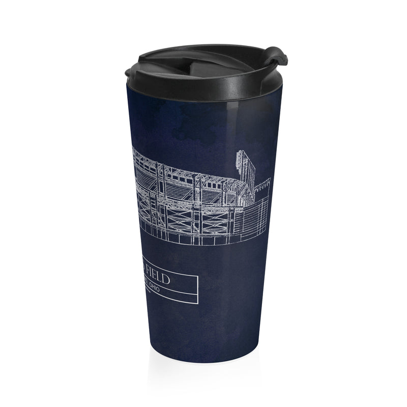 Jacobs Field Stainless Steel Travel Mug