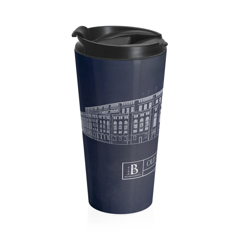 Old Yankee Stadium (1923) Stainless Steel Travel Mug