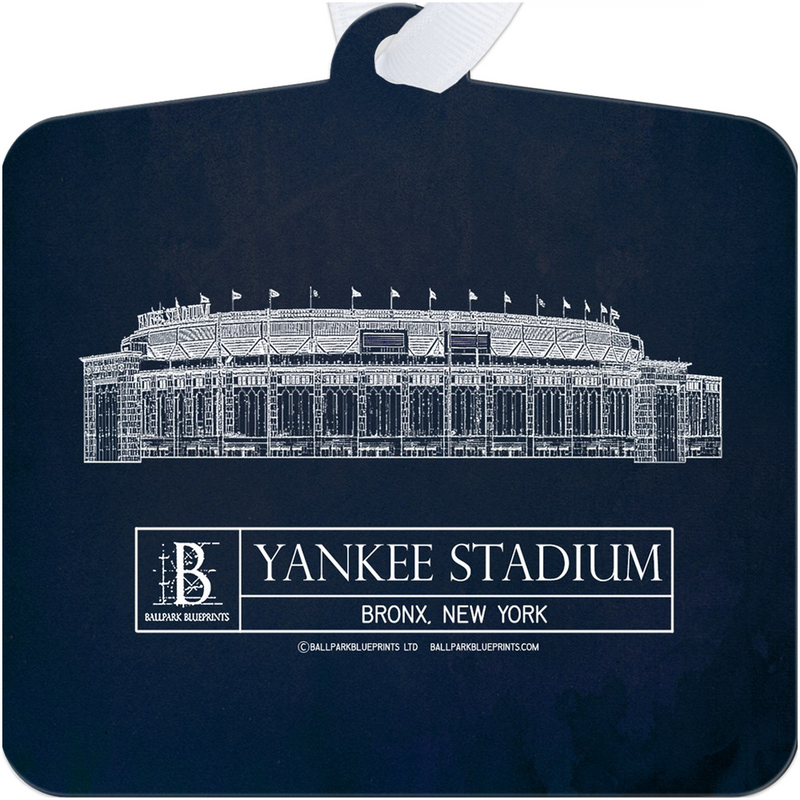 Yankee Stadium Metal Ornament