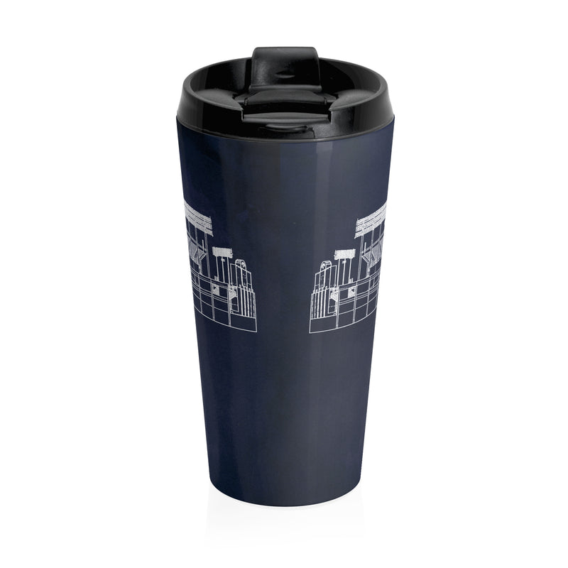 Oakland Coliseum Stainless Steel Travel Mug