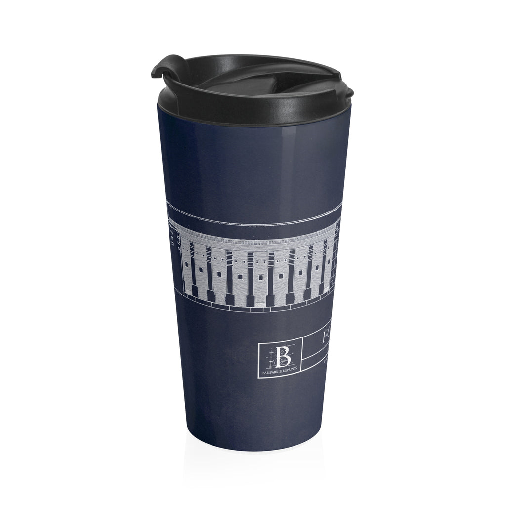 Ford Field Stainless Steel Travel Mug