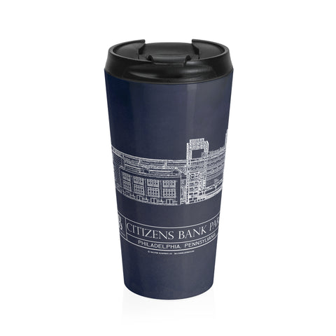 FirstEnergy Stadium Stainless Steel Travel Mug