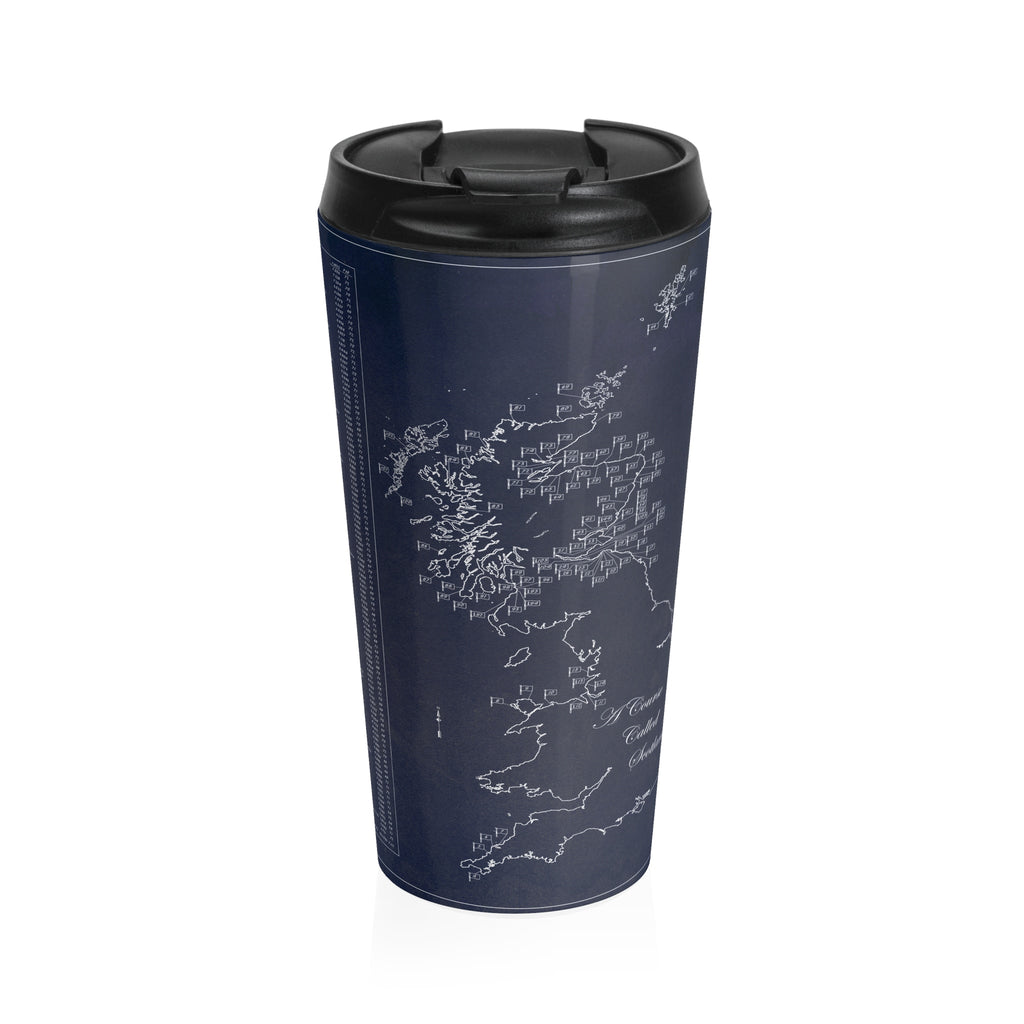Course Called Scotland Stainless Steel Travel Mug