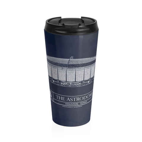 Bank of America Stadium Stainless Steel Travel Mug