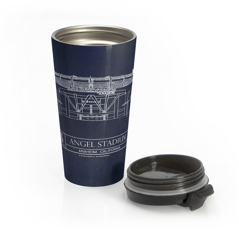 Angel Stadium Stainless Steel Travel Mug