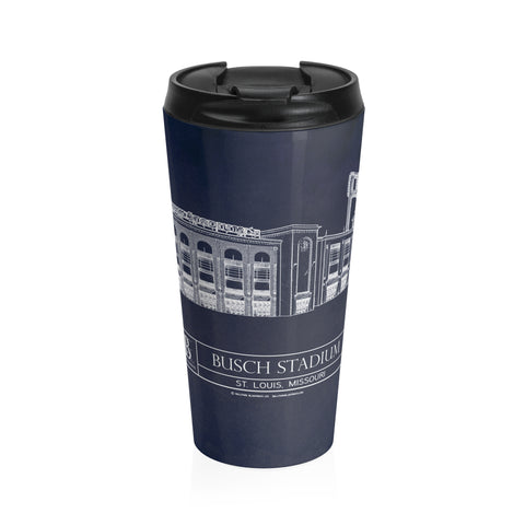 Citi Field Stainless Steel Travel Mug