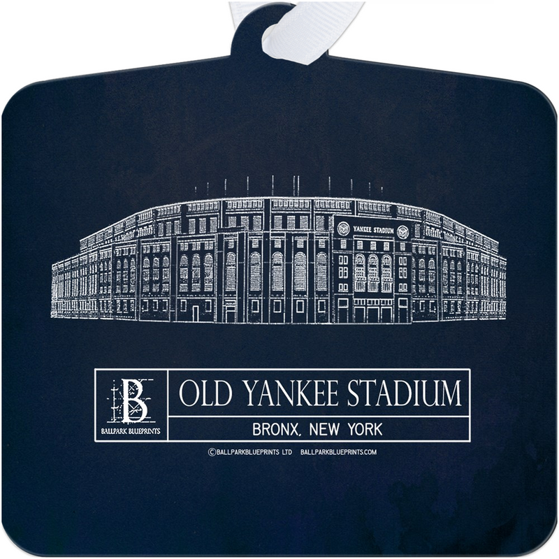 Old Yankee Stadium Metal Ornament
