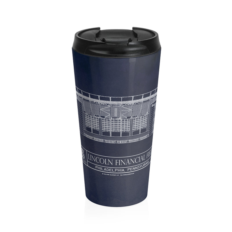 Lincoln Financial Field Stainless Steel Travel Mug
