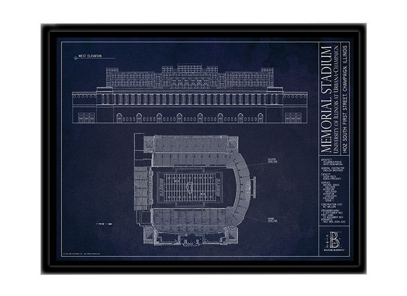 University of Illinois at Urbana-Champaign - Illinois Memorial Stadium