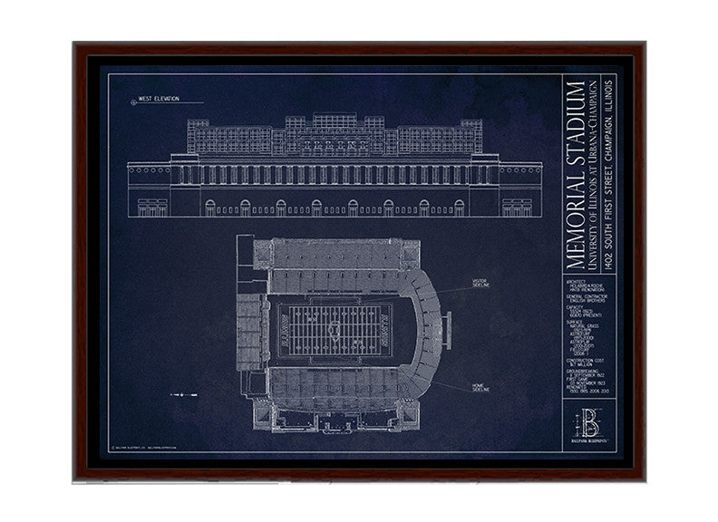 Illinois Memorial Stadium - University of Illinois at Urbana-Champaign