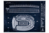 This unframed blueprint of Ohio Stadium is a one-of-a-kind gift for the future OSU student.