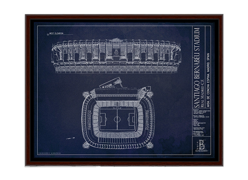 Santiago Bernab 233 U Stadium Real Madrid Football Gift