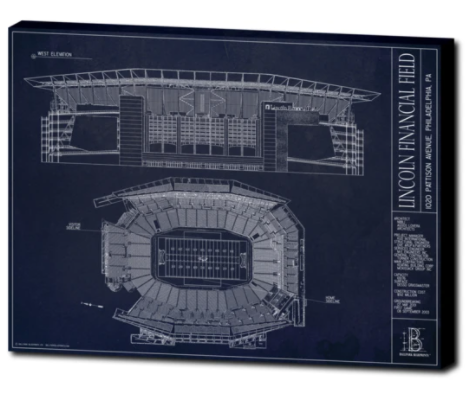 SALE - Lincoln Financial Field - Small Canvas