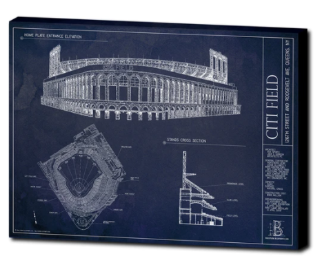 SALE - Citi Field - Large Canvas