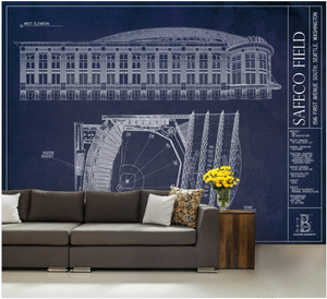 Safeco Field Wall Mural