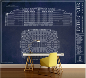 United Center Wall Mural