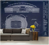 Angel Stadium Wall Mural