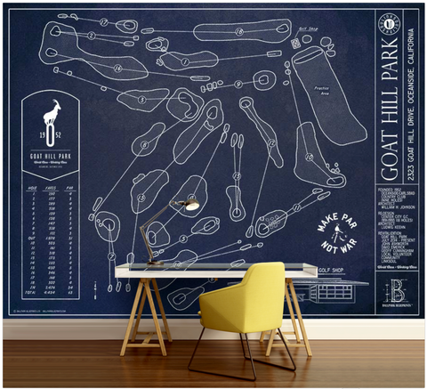 Carne Golf Links Wall Mural