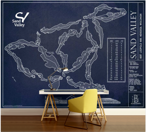 Sand Valley Golf Course Wall Mural