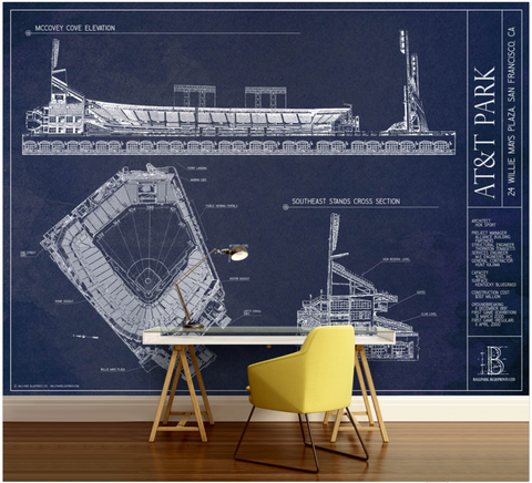 Great American Ballpark Wall Mural