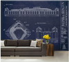 DKR Texas Memorial Stadium Wall Mural