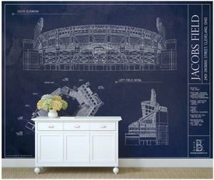 Jacobs Field Wall Mural